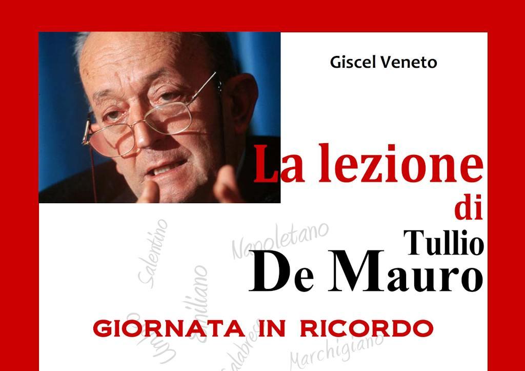 La Lezione di Tullio De Mauro